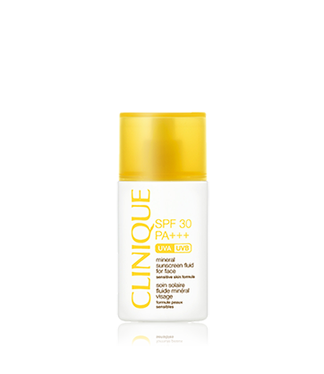 SPF30 Mineral Sunscreen Fluid for Face